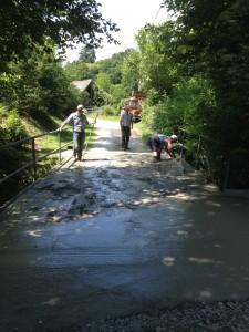 Travaux Pont La Borie 1