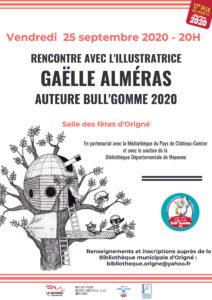 Rencontre avec l'illustratrice Gaëlle Alméras Auteure Bull'Gom