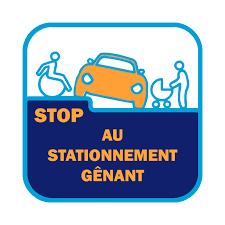 stop stationnement genant